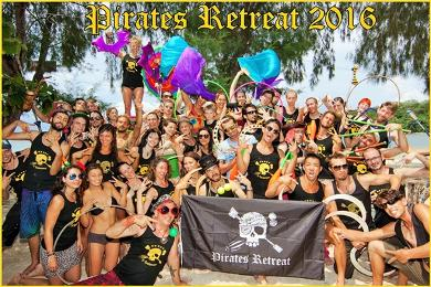 pirates retreat